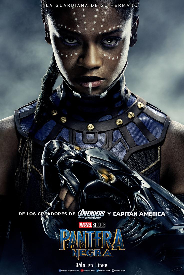 galer237a pantera negra lanza los p243sters de sus personajes