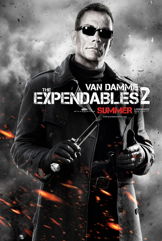 The Expendables 2 (Los Mercenarios) ? Trailer 2, posters y clip