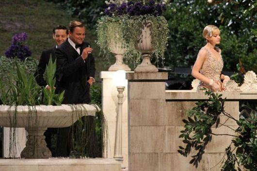 El gran Gatsby con Leonardo DiCaprio, Tobey Maguire y Carey Mulligan