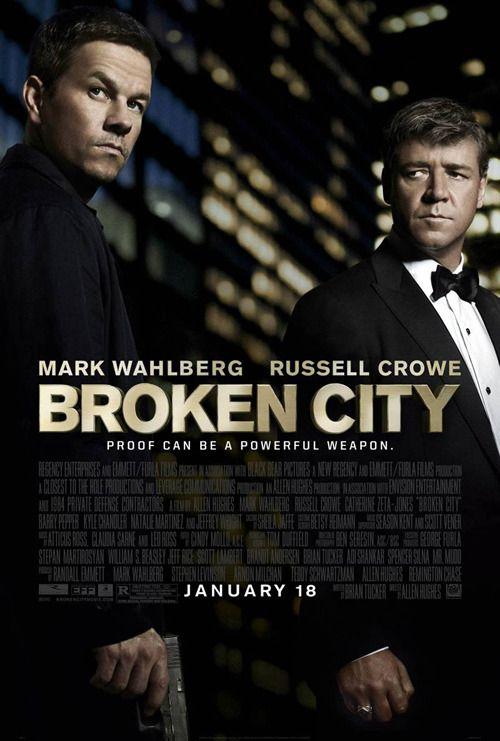 Broken City, cine negro protagonizado por Mark Wahlbergy Rusell Crowe