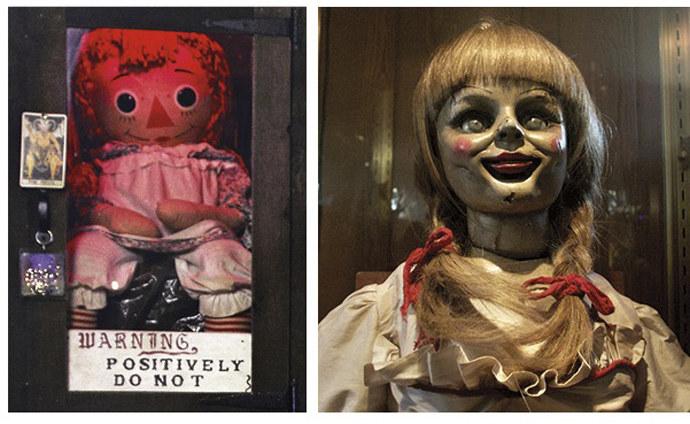 (el conjuro) Annabelle la verdadera muñeca de expediente wa