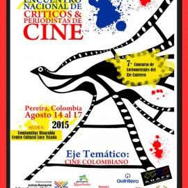 El cine colombiano tema central del Encuentro de Críticos y Periodistas de Cine 2015