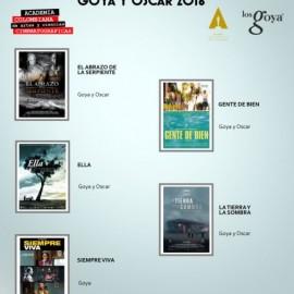 Las películas colombianas preseleccionadas por la Academia de Cine para los Oscar y Goya