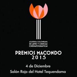Los premios Macondo al cine colombiano tienen fecha de ceremonia