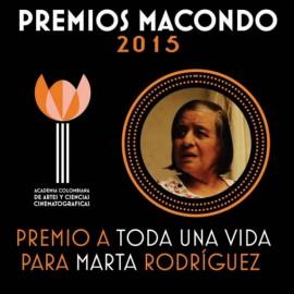 Ganadores de los  Premios Macondo 2015 – Academia Colombiana de Cine