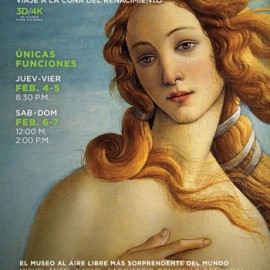 En salas ya el documental de Florencia y la galería de Uffizi