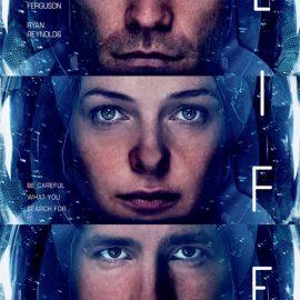 Jake Gyllenhaal se embarca en la Estación Espacial en Life: Vida Inteligente. Póster Animado