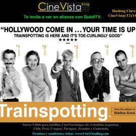 Los invitamos a ver T2: Trainspotting por la plataforma Online QubitTV (Códigos gratis online)