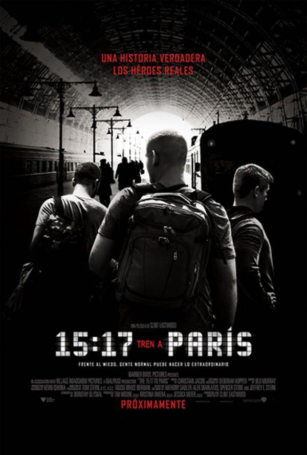 Resultado de imagen para the 15:17 to paris poster