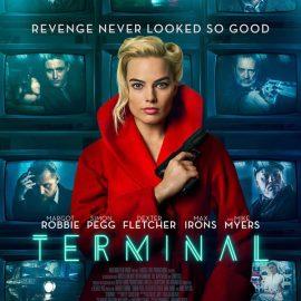 Terminal, película de cine negro futurista protagonizada por Margot Robbie encarnando a una mesera con doble vida