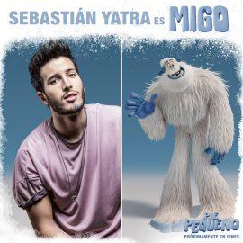 Sebastián Yatra da su voz al protagonista de Pie Pequeño (Smallfoot)