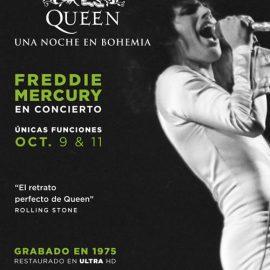 Antes de la llegada de Bohemian Rhapsody se podrá ver Queen: Una noche en bohemia