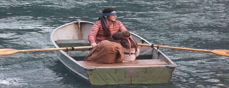 Sandra Bullock en la adaptación de la novela posapocalíptica Bird Box