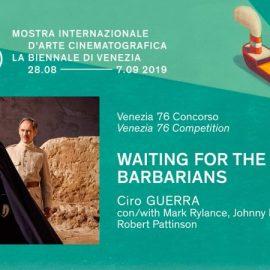 Ciro Guerra competirá por el León de Oro con Esperando a los bárbaros en el Festival de Cine de Venecia
