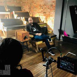 Lez-Ama. Vivir filmando, título del documental inspirado en la vida del asesinado cineasta Mauricio Lezama