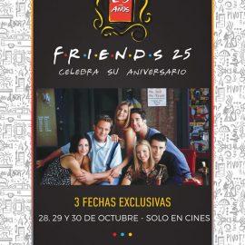 Friends, una de las series más vistas de la historia en las salas de cine – Desde hoy hasta el 30