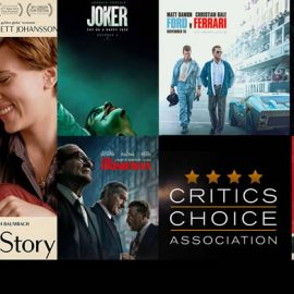 Ganadores de los Critics Choice Awards – Live Blogging – Quentin Tarantino sumó 4 premios