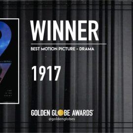 Ganadores de los Globos de Oro 2019 – 1917 la mejor película drama del año