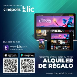 Cinépolis lanza Cinépolis Klic en cuatro países latinoamericanos