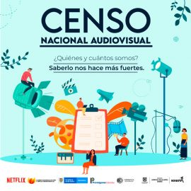 Primer Censo Nacional Audiovisual colombiano próximo a su cierre