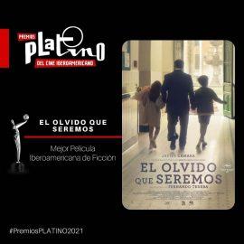 El olvido que seremos, producción colombiana dirigida por el español Fernando Trueba, es la gran ganadora de los Premios Platino 2021